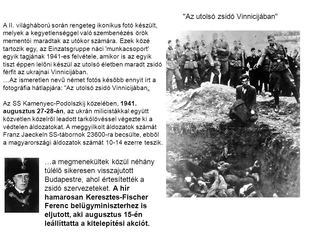 Az utolsó zsidó Vinnicijában A II.