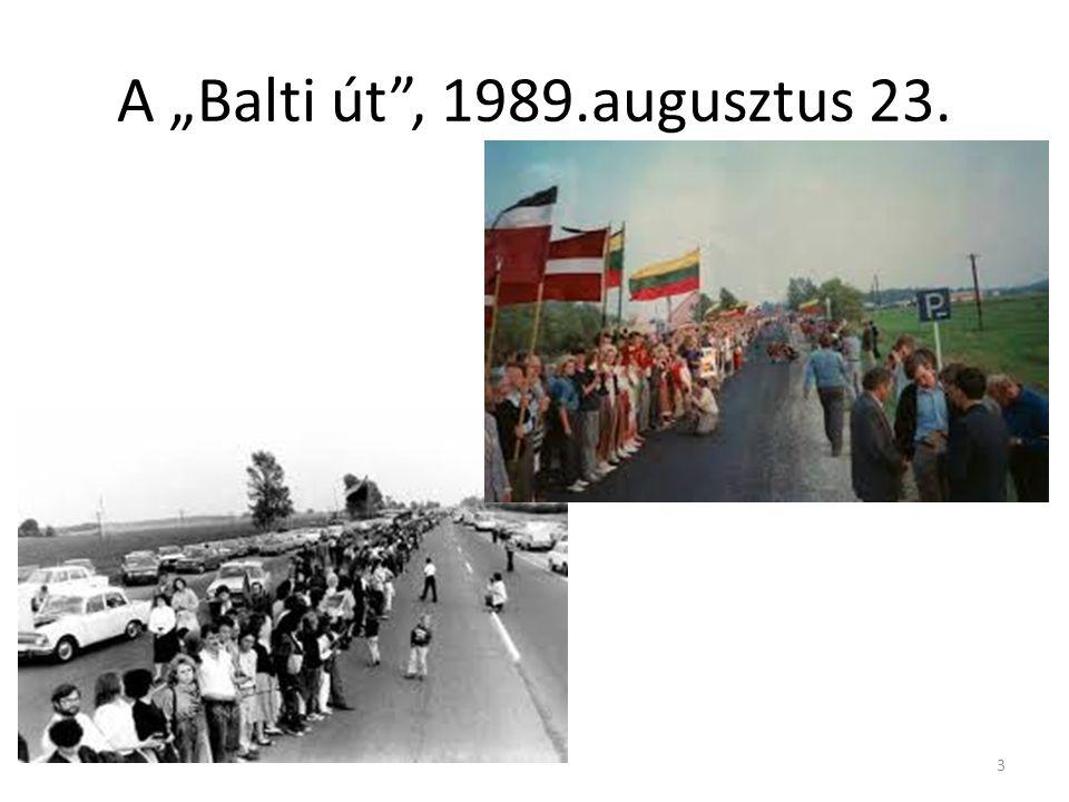 """A """"Balti út , 1989.augusztus 23. 3"""