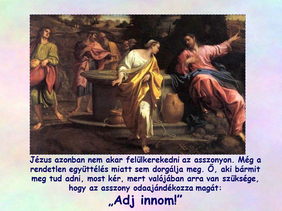 """János, aki szemtanú volt, azt is elmondja, hogy a kereszten, amikor az egyik katona lándzsáját Jézus oldalába döfte, """"nyomban vér és víz folyt belőle"""""""