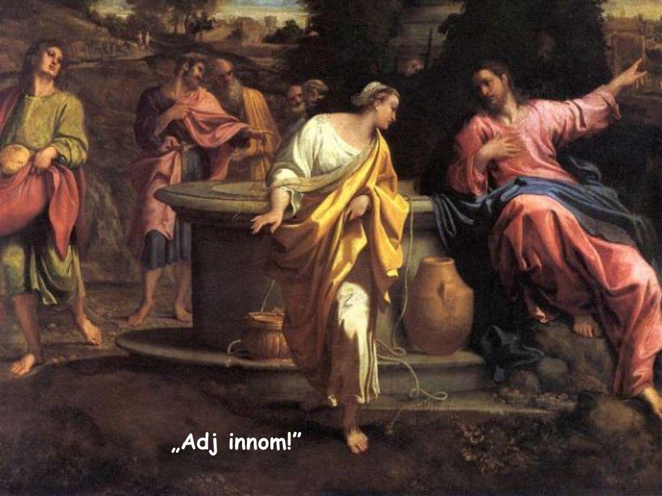 """""""Jézus megszólította: »Adj innom!«"""" (Jn 4,7) Az Élet Igéje, 2015. január"""