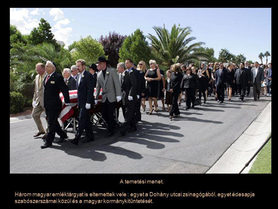 A temetési menet.