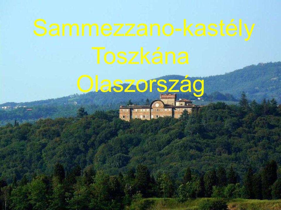 Sammezzano-kastély Toszkána Olaszország