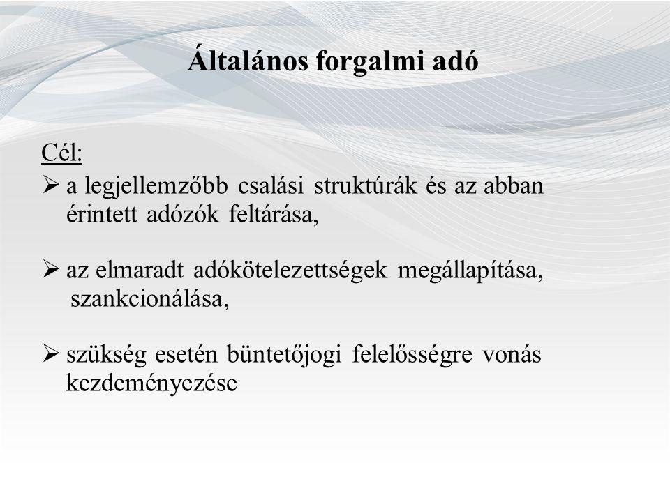 Jövedelmezőség szempontjából ellenőrizendők Jövedelmezőségi szintek TESZOR kód Az adózó székhelye 4532 Gépjárműalkatrész kiskereskedelem 4778 Egyéb máshova nem sorolt új áru kiskereskedelme Dél-alföldi régió6,96,4 Dél-dunántúli régió6,110,0 Észak-alföldi régió7,56,3 Észak-magyarországi régió6,19,0 Közép-dunántúli régió7,99,1 Közép-magyarországi régió8,010,8 Nyugat-dunántúli régió6,28,5