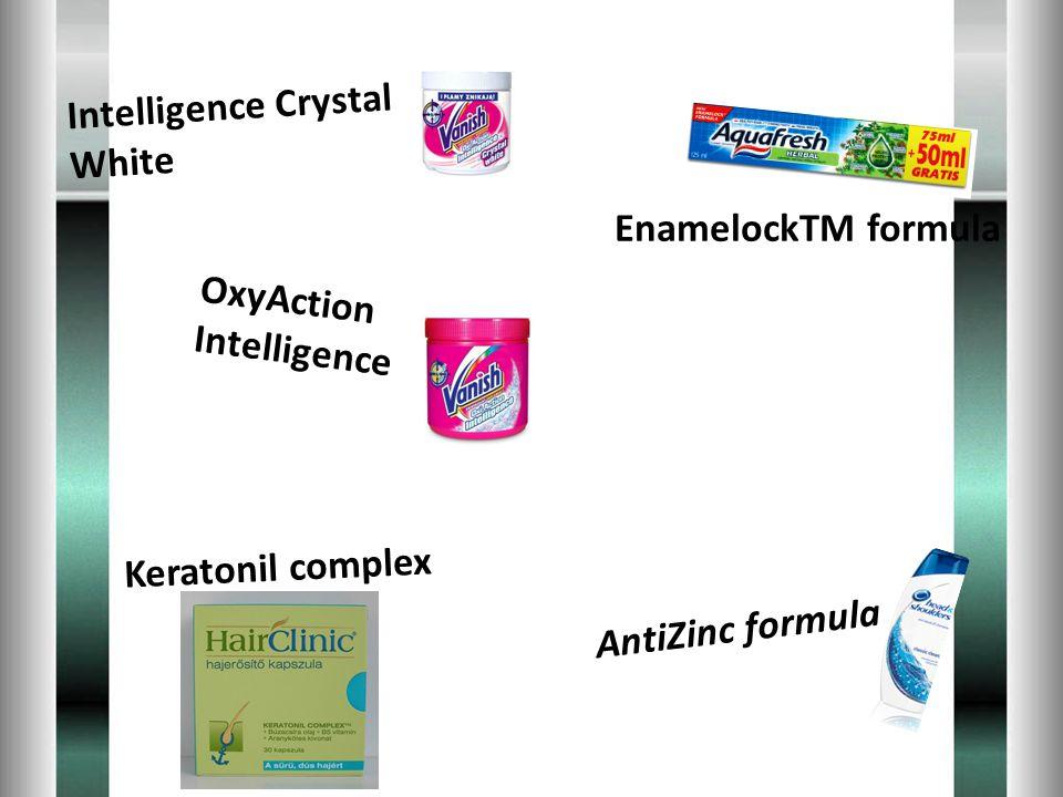 Keratonil complex EnamelockTM formula AntiZinc formula OxyAction Intelligence Intelligence Crystal White
