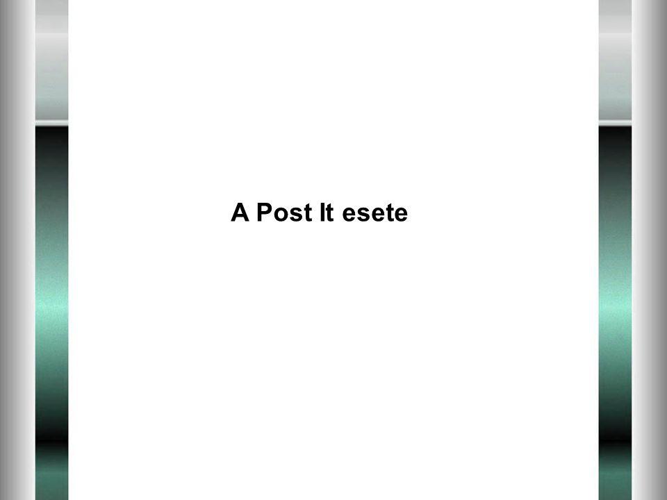 A Post It esete