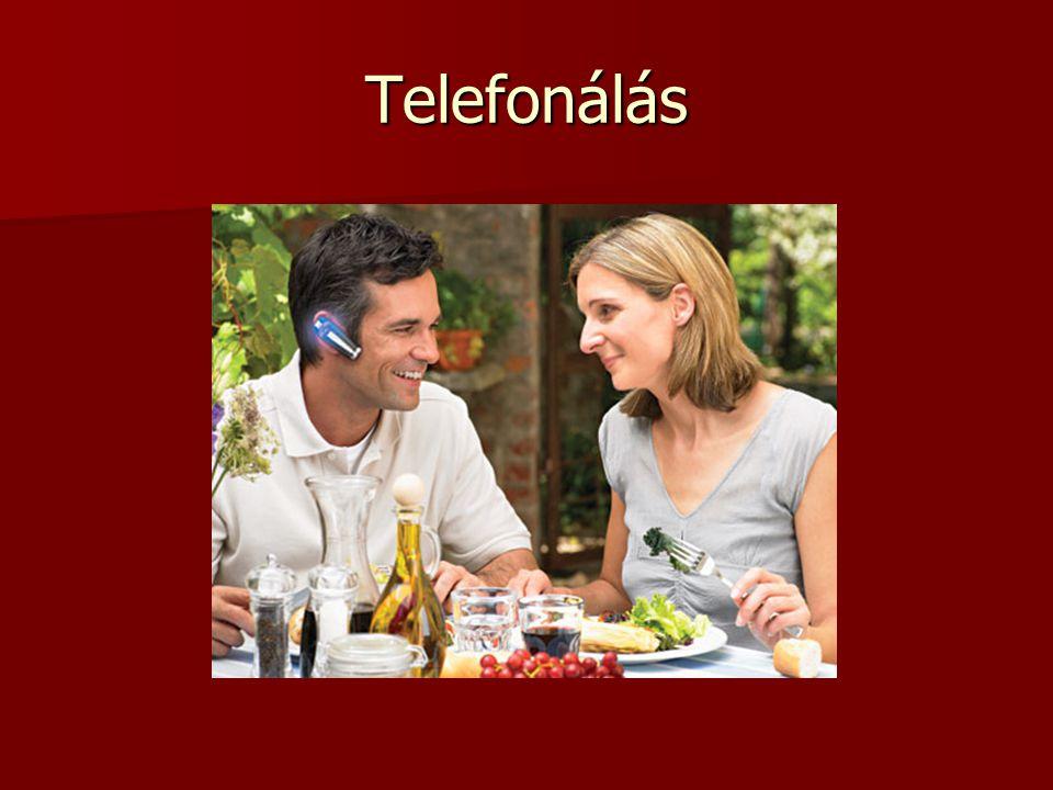 Telefonálás