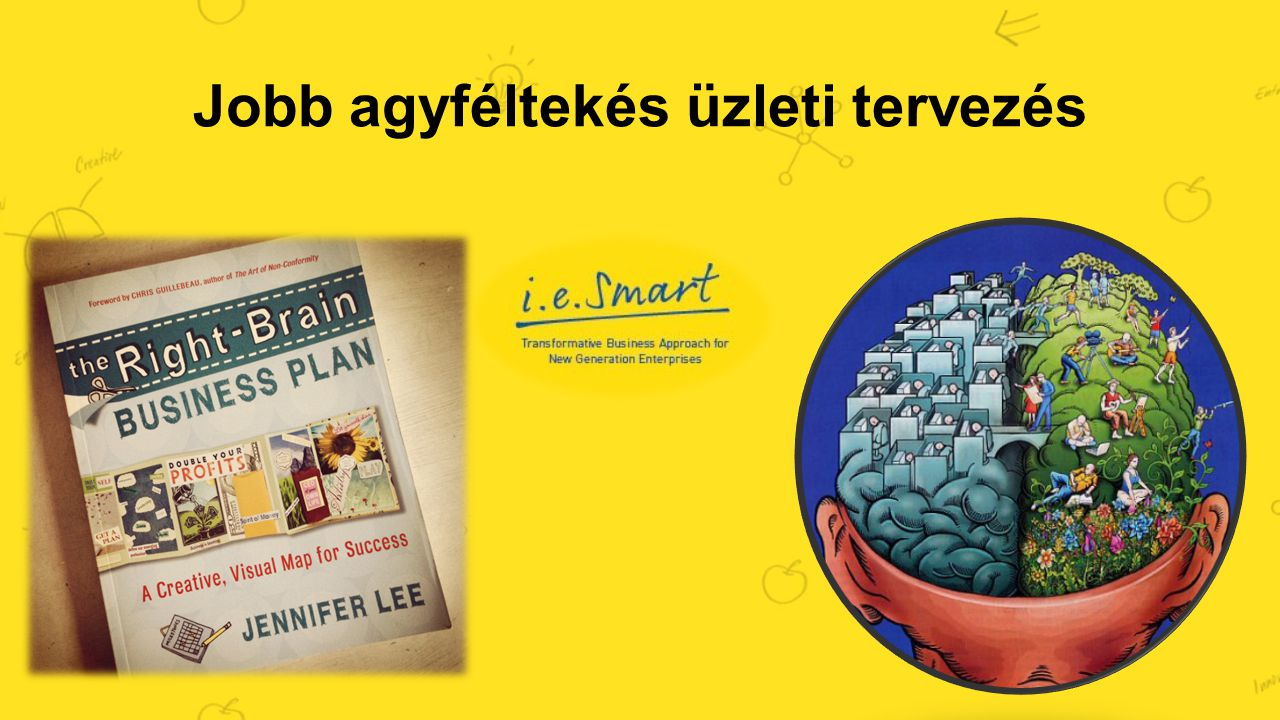 Jobb agyféltekés üzleti tervezés