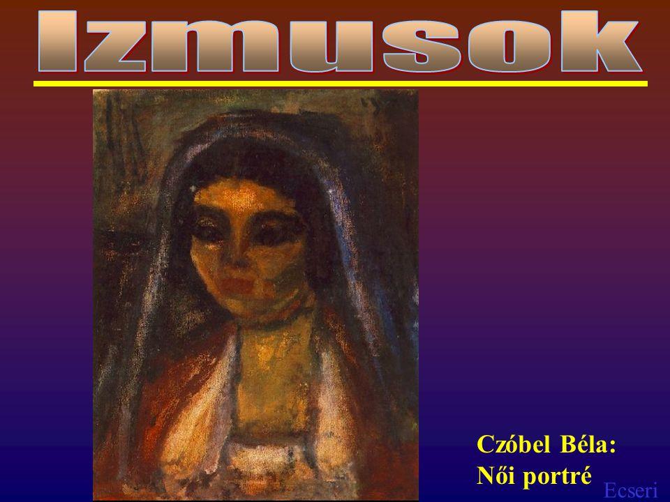 Ecseri Czóbel Béla: Női portré