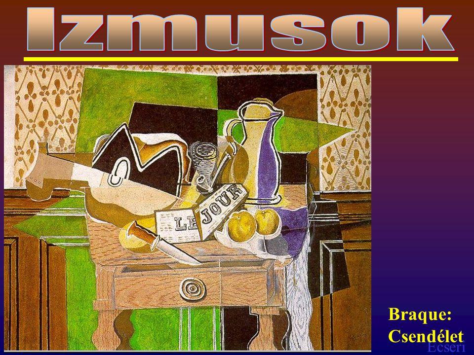 Ecseri Braque: Csendélet