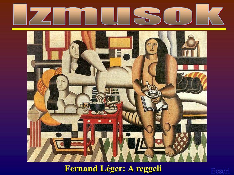 Ecseri Fernand Léger: A reggeli