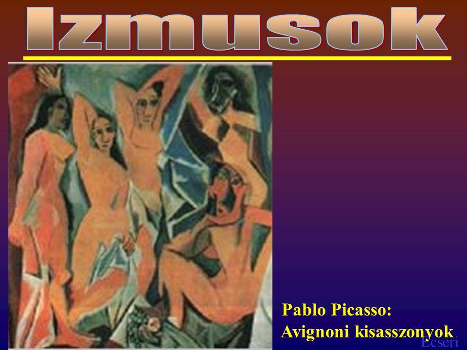 Ecseri Pablo Picasso: Avignoni kisasszonyok