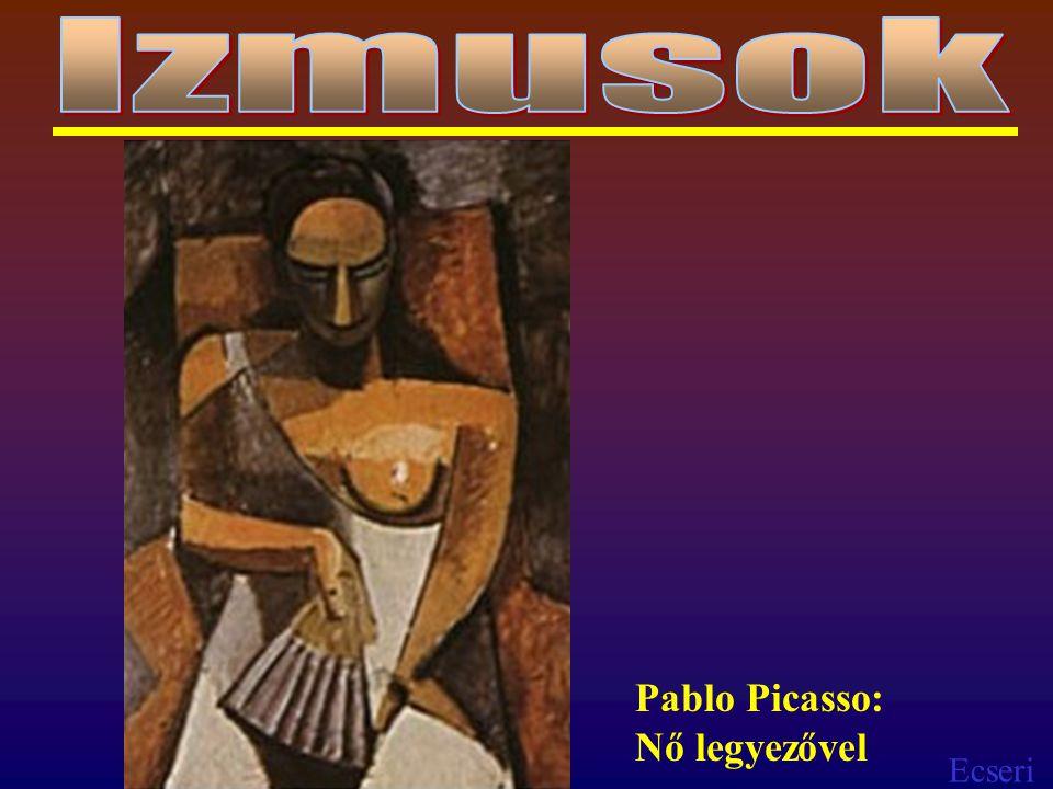 Ecseri Pablo Picasso: Nő legyezővel
