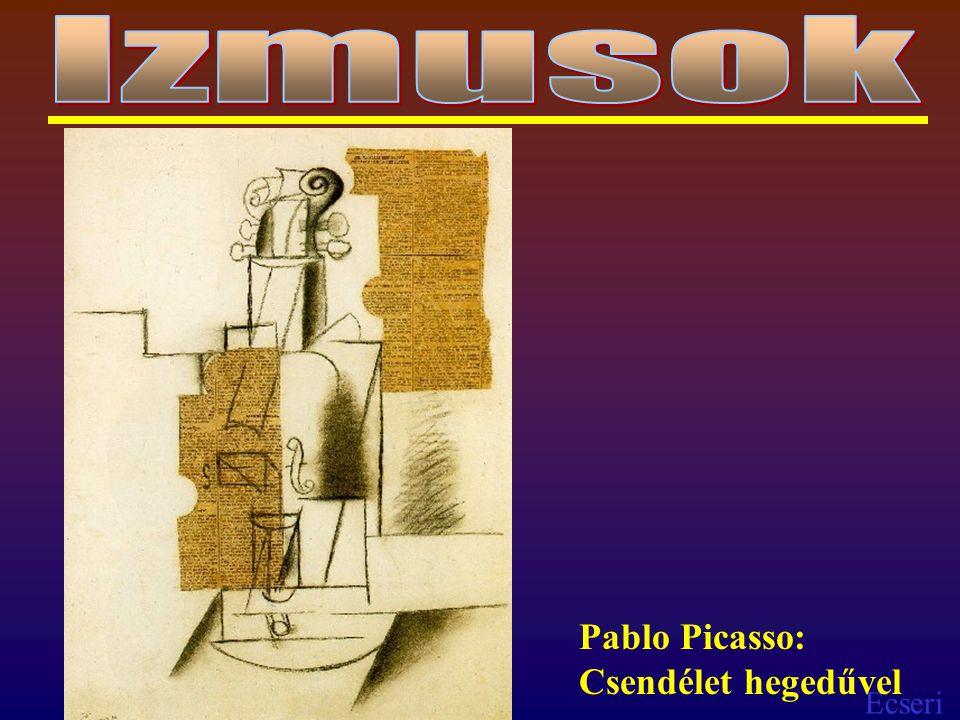 Ecseri Pablo Picasso: Csendélet hegedűvel