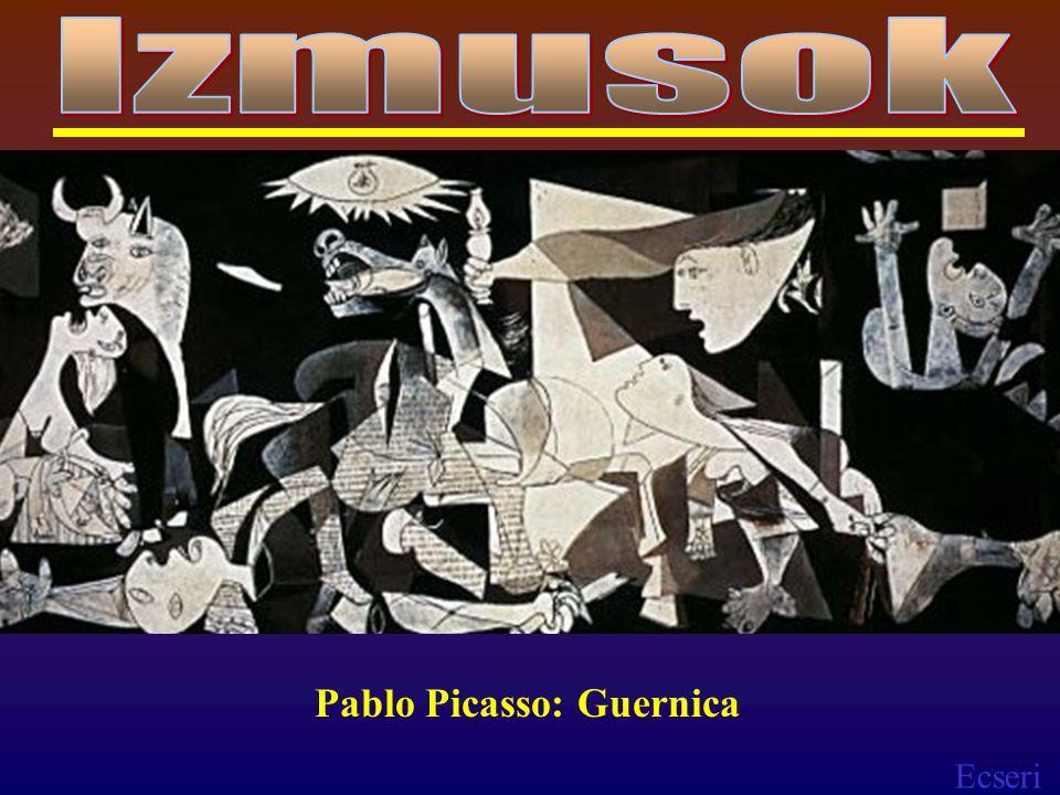 Ecseri Pablo Picasso: Guernica