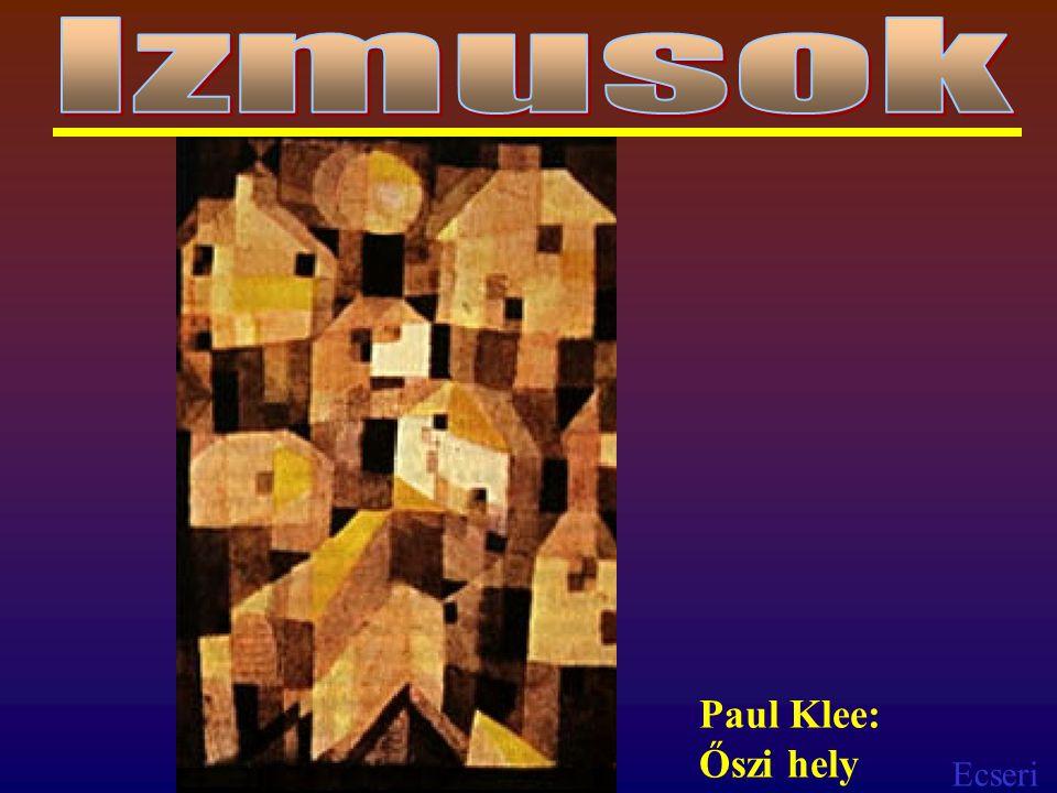 Ecseri Paul Klee: Őszi hely