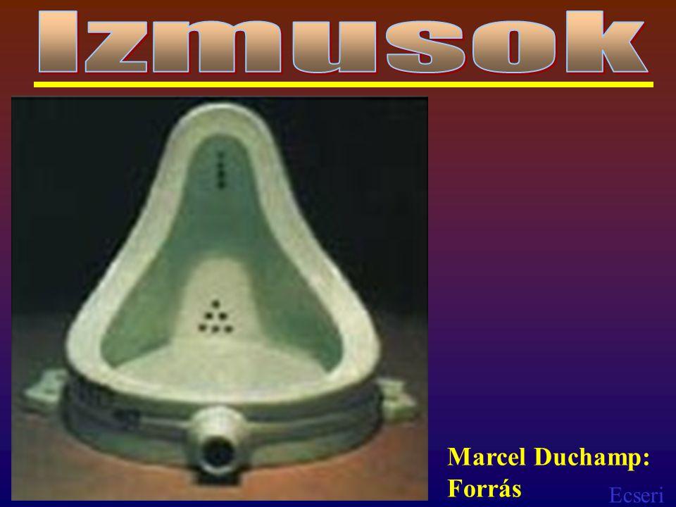 Ecseri Marcel Duchamp: Forrás