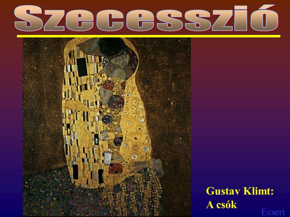 Ecseri Gustav Klimt: A csók