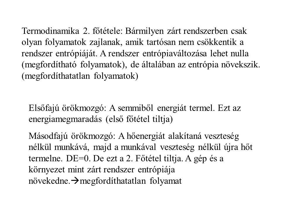 Termodinamika 2.