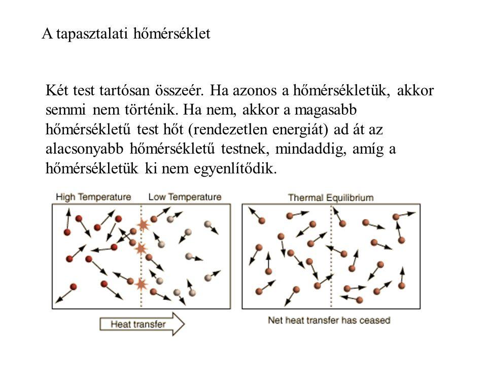 Hőtágulás Halmazállapot változás Hőterjedés: -hőátadás -hőáramlás -hősugárzás