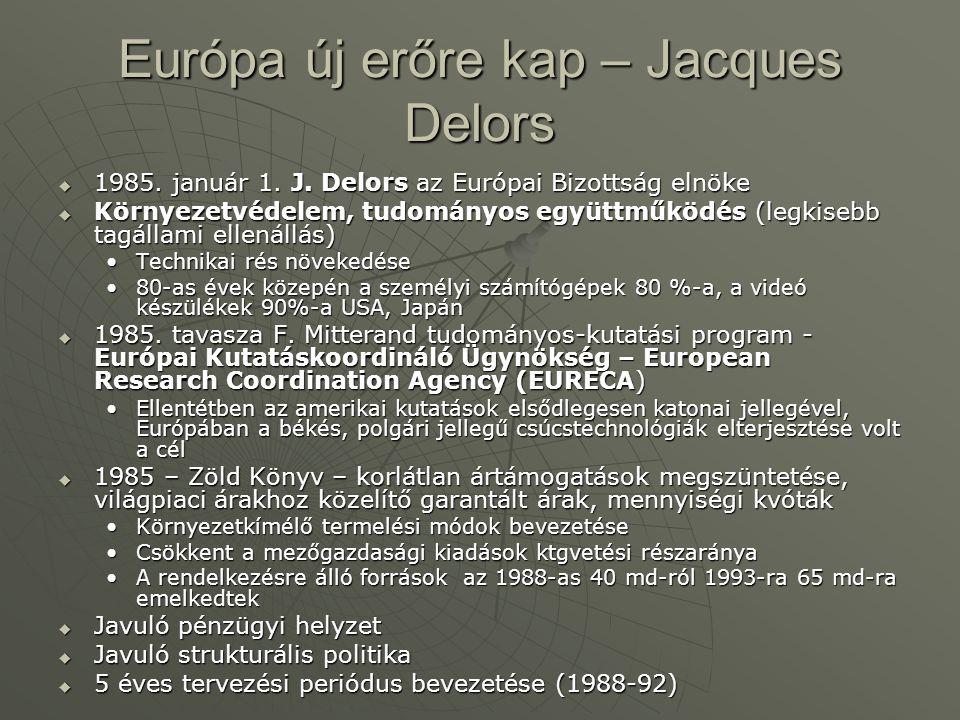 Európa új erőre kap – Jacques Delors  1985. január 1.