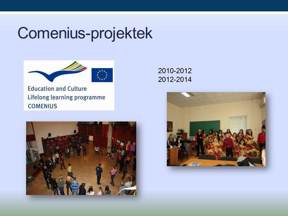 Comenius-projektek 2010-2012 2012-2014