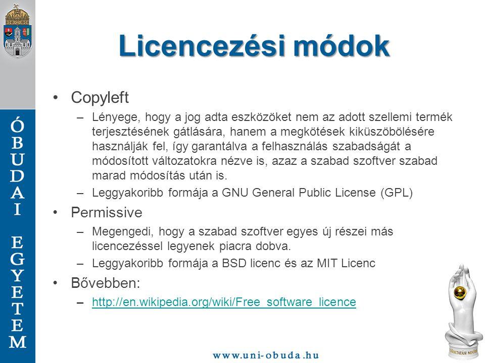 Ki fejleszt szabad szoftvert.Nagyok: –IBM, Oracle, Novell, Red Hat, Google, Mozilla, stb.