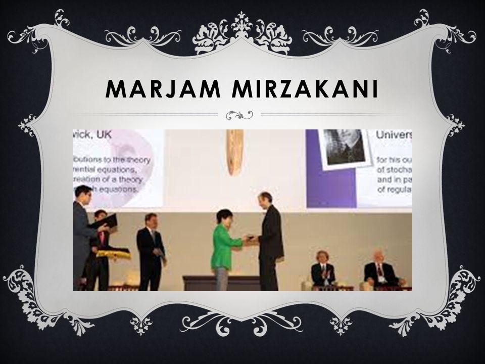 MARJAM MIRZAKANI