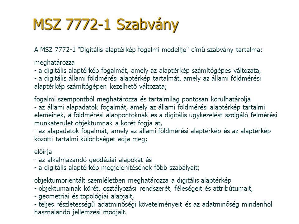 MSZ 7772-1 Szabvány A MSZ 7772-1