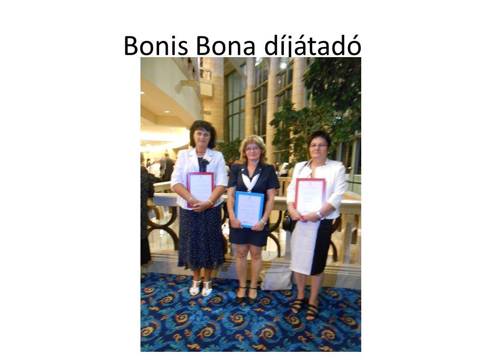 Bonis Bona díjátadó