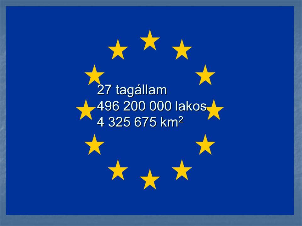 Európai Unió intézményei: -Európai Parlament -Európai Unió Tanácsa -Európai Bizottság -Európai Bíróság -Európai Számvevőszék