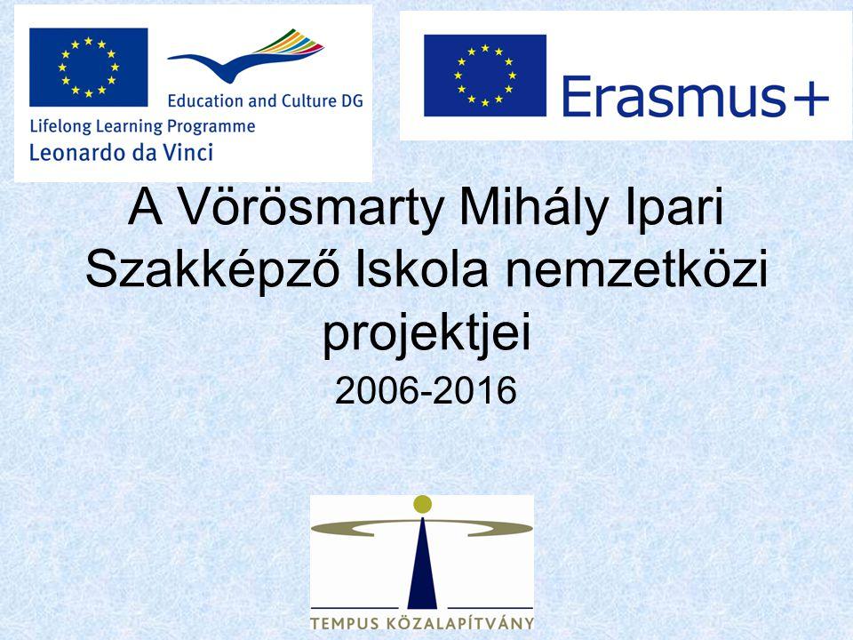 A Vörösmarty Mihály Ipari Szakképző Iskola nemzetközi projektjei 2006-2016