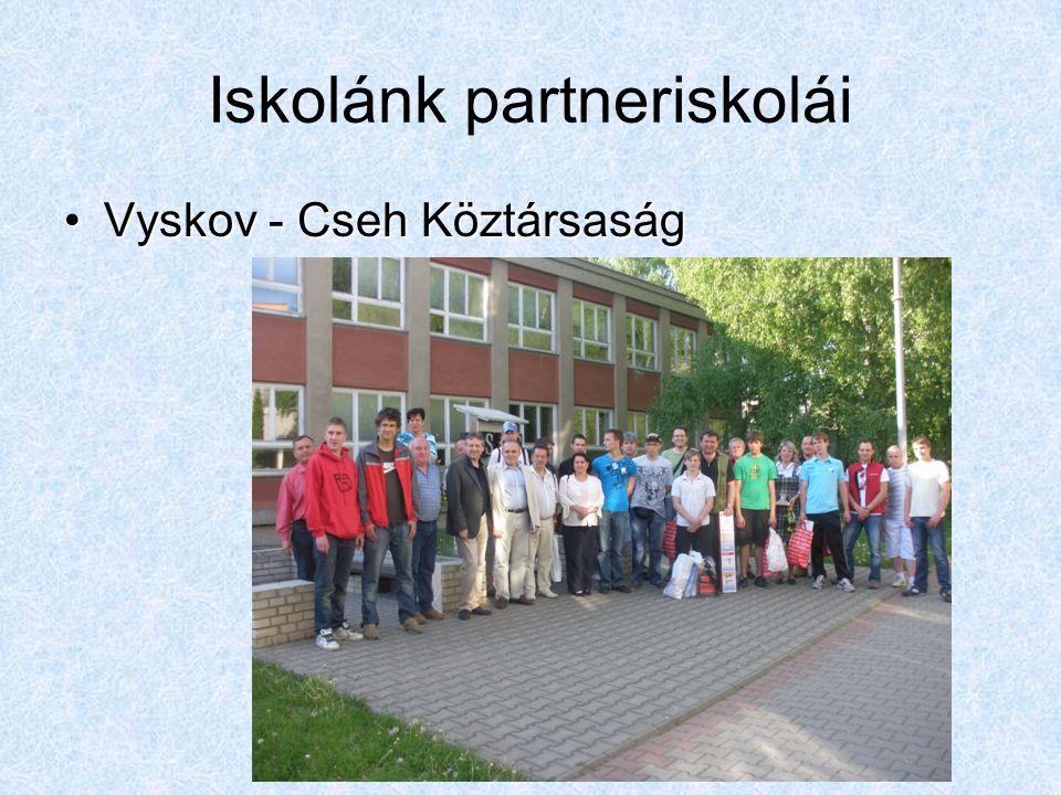 Iskolánk partneriskolái Vyskov - Cseh KöztársaságVyskov - Cseh Köztársaság