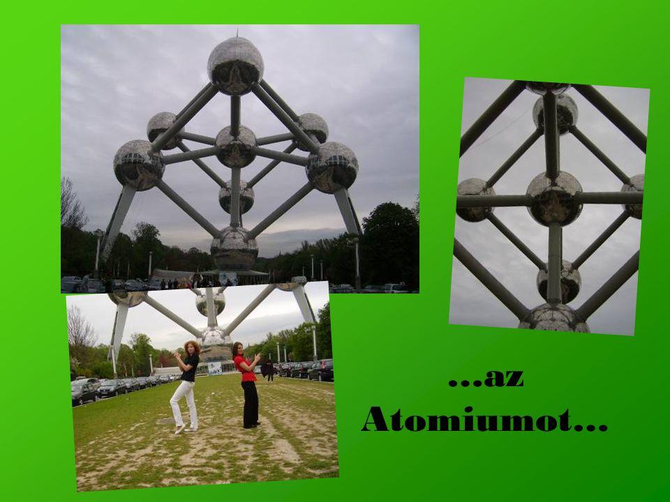 …az Atomiumot…