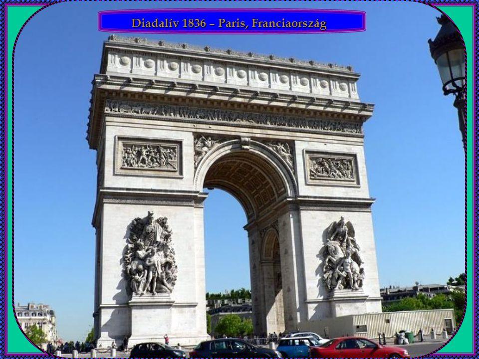 Diadalív 1836 – Paris, Franciaország