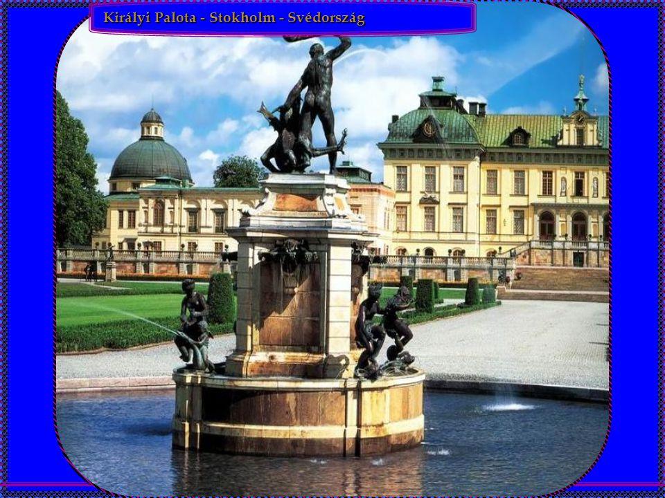 Királyi Palota - Stokholm - Svédország