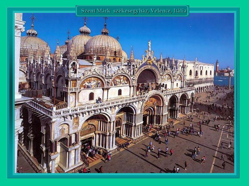 Szent Márk székesegyház, Velence, Itália Szent Márk székesegyház, Velence, Itália