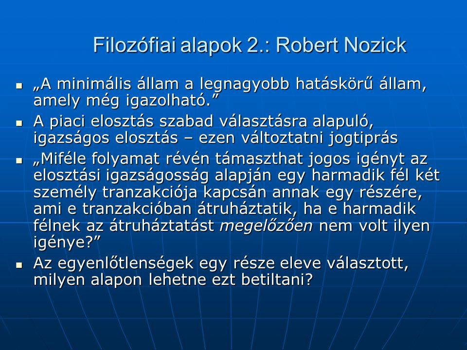 Filozófiai alapok 1.: Friedrich v.