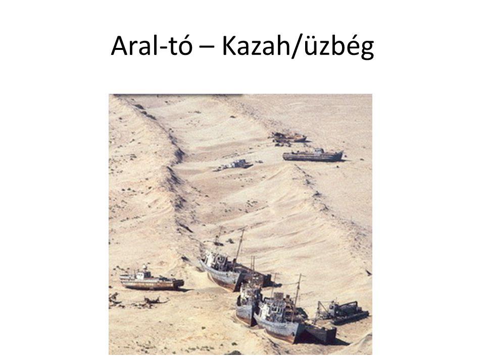 Aral-tó – Kazah/üzbég