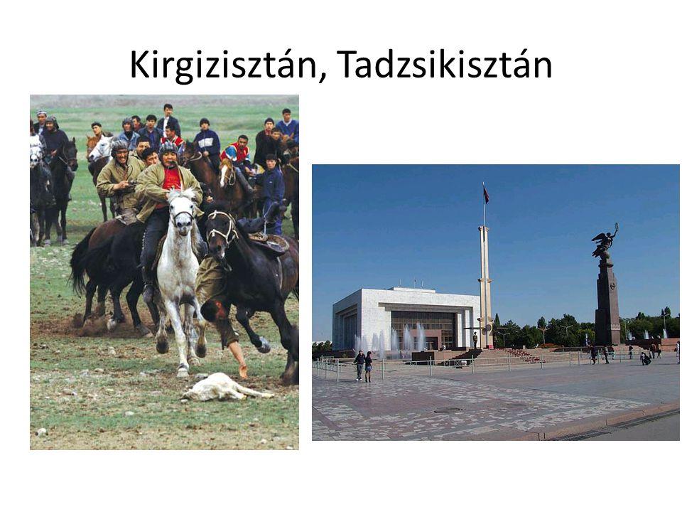 Kirgizisztán, Tadzsikisztán
