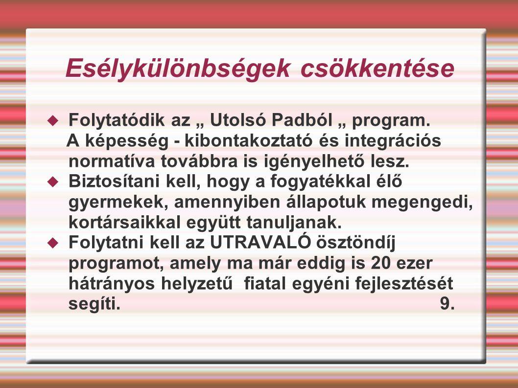 További jogszabályok, rendeletek A Magyar Közlöny 61.