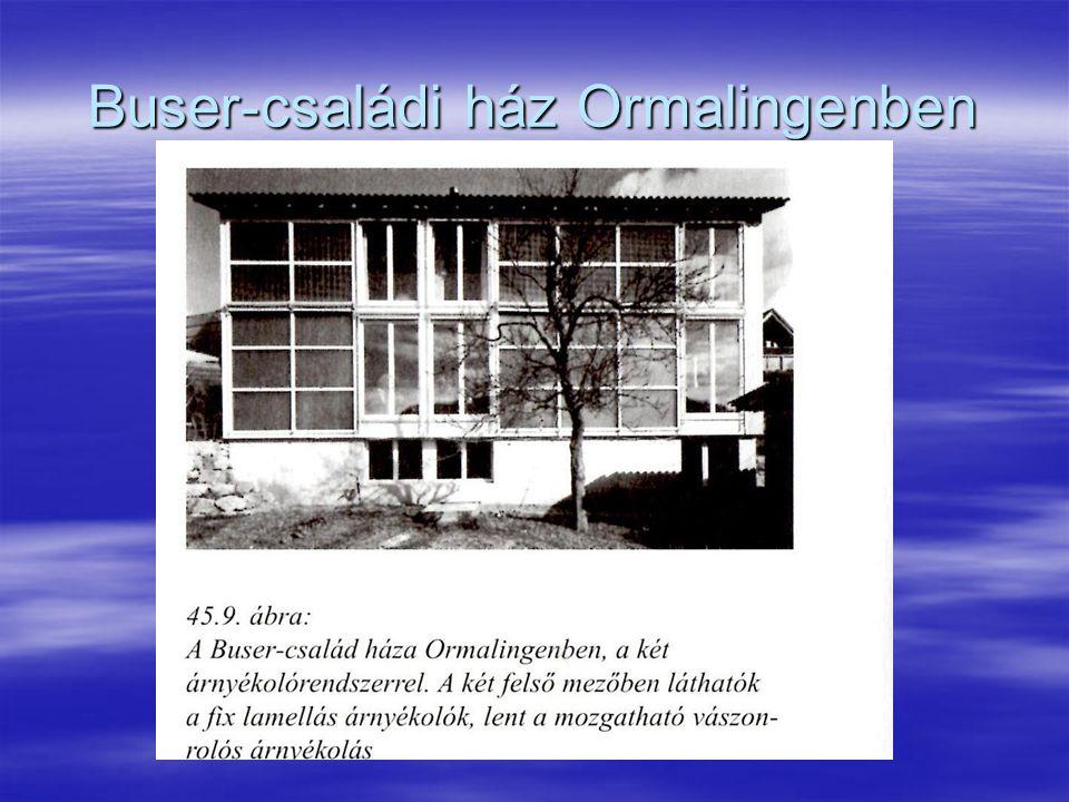 Buser-családi ház Ormalingenben