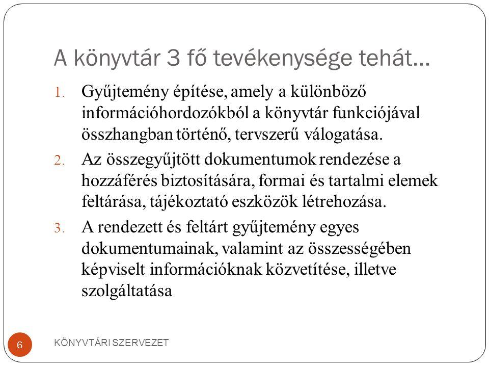 KÖNYVTÁR MINT RENDSZER (KÖNYVTÁROSOK KÉZIKÖNYVE.BP., OSIRIS, 2001.