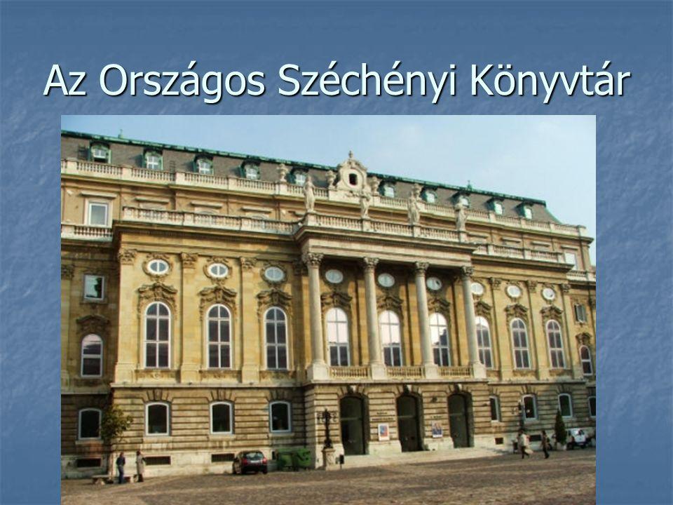 Az Országos Széchényi Könyvtár