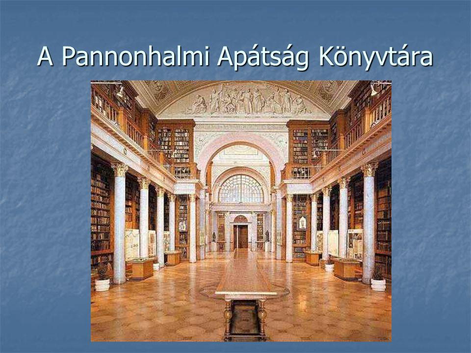 A Pannonhalmi Apátság Könyvtára