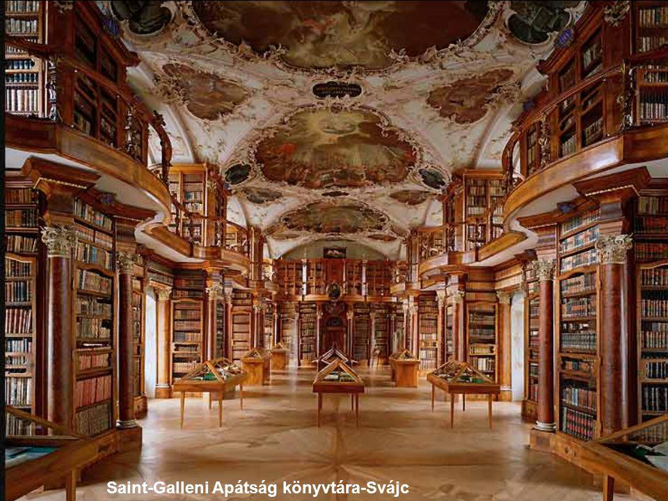 Szent-Flórián Apátság könyvtára-Ausztria