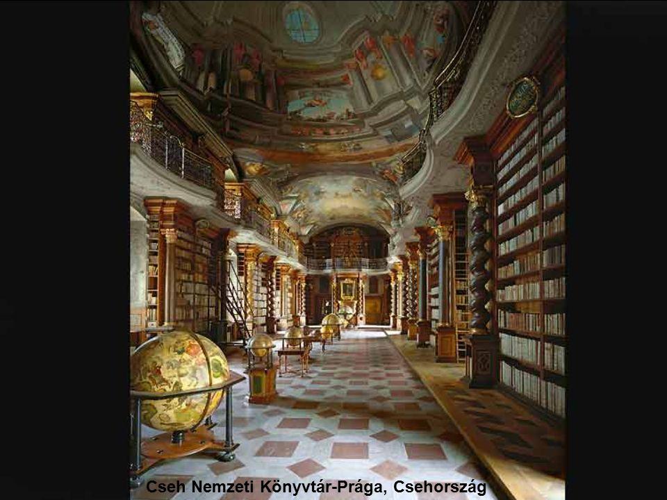 Saint-Galleni Apátság könyvtára-Svájc