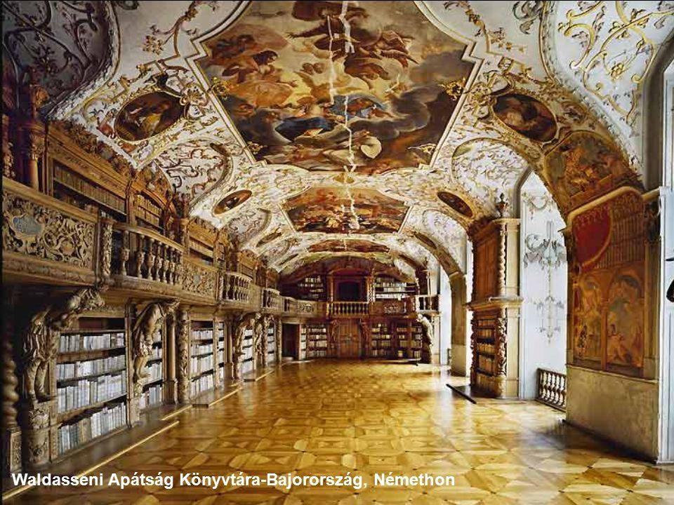 Benedikti Apátság könyvtára- Metten, Németország