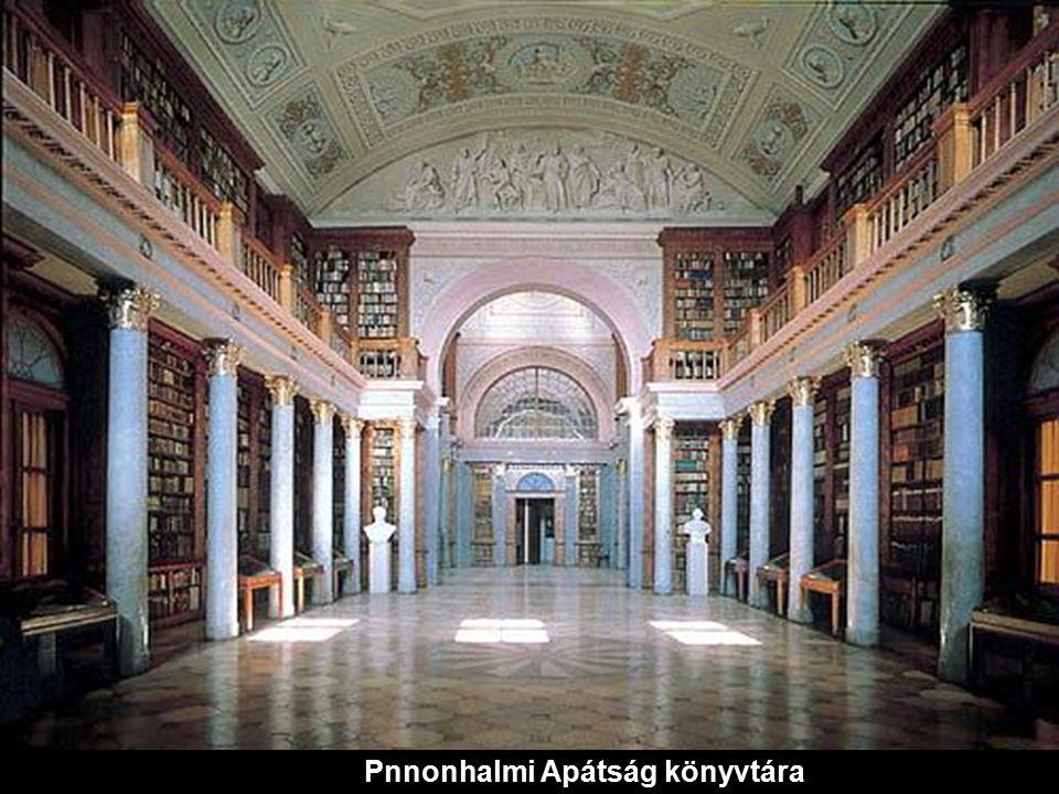 Pannonhalmi Apátság könyvtára-Magyarország