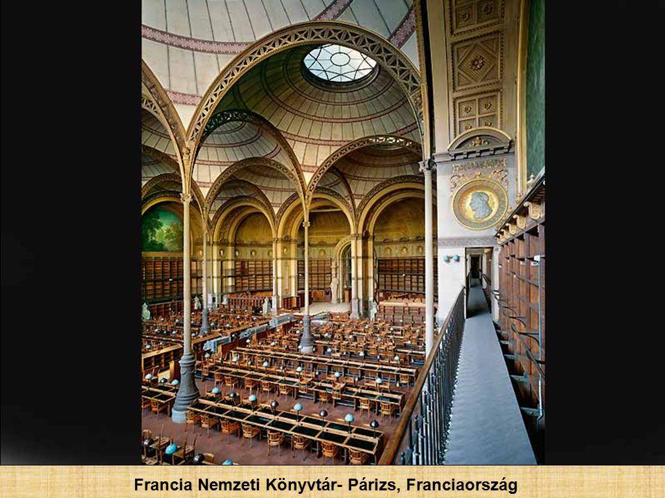 Sainte-Geneviève könyvtár- Párizs, Franciaország