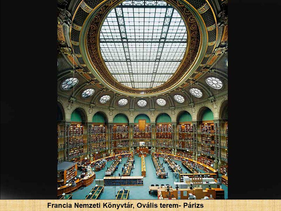 Francia Nemzeti Könyvtár- Párizs, Franciaország